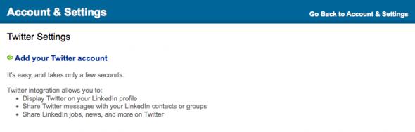 Twitter <> LinkedIn