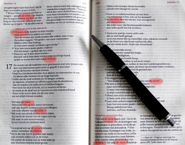 De HEER in de Bijbel