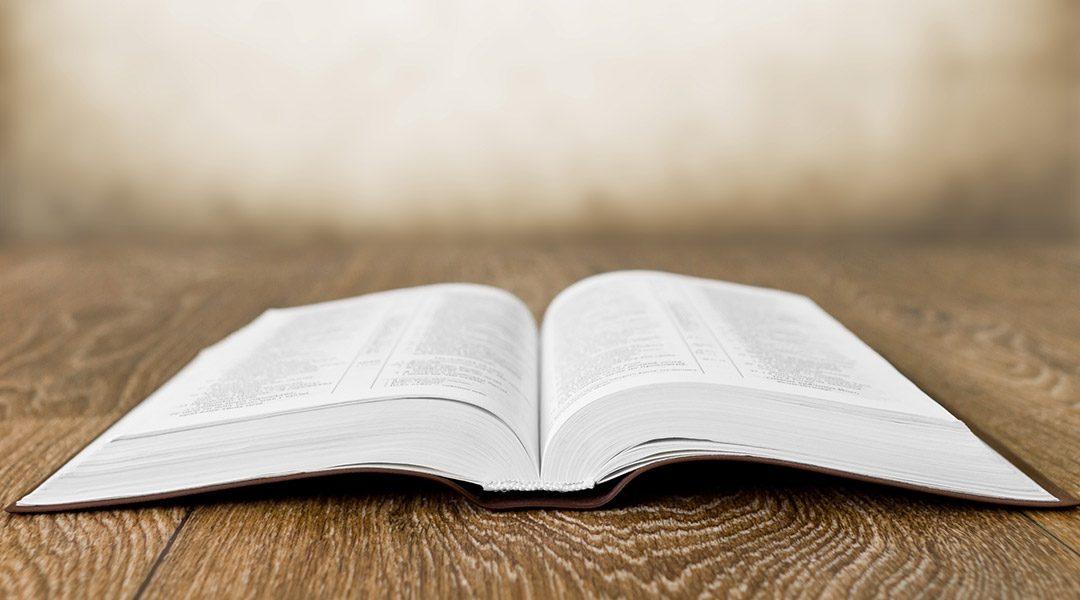 opengeslagen bijbel