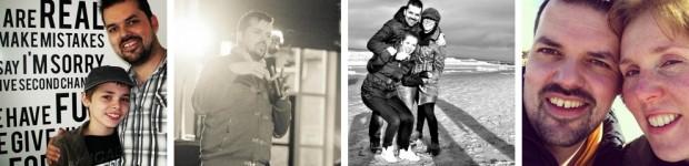 Foto's Wouter en familie
