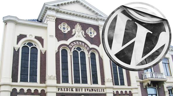 Kerk website in WordPress