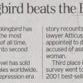 Mickinbird beats the Bible
