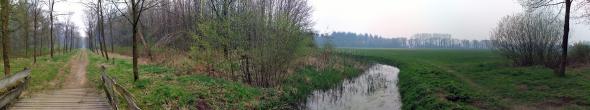 Panorama foto landgoed Slangenburg, Doetinchem