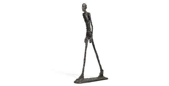 Alberto Giacometti's sculpture L'Homme qui marche
