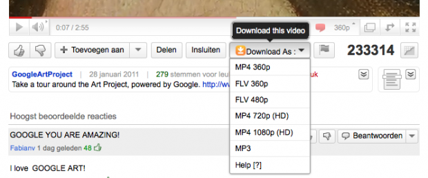 Easy Youtube Video Download