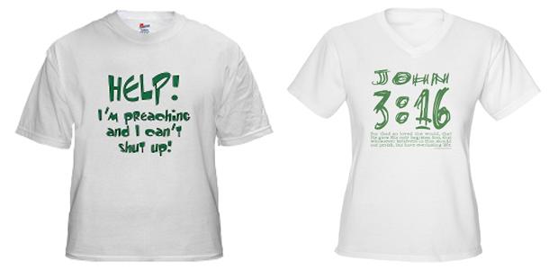 t-shirts kerk