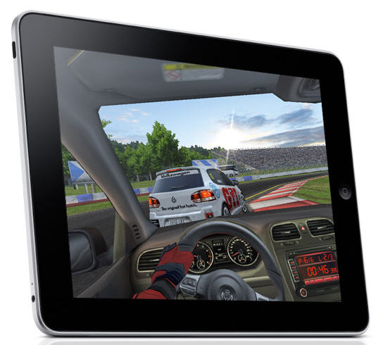 real racing hd ipad game