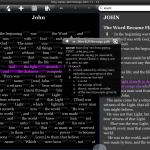 BibleReader - King James met Strong's