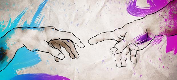 Handen Da Vinci