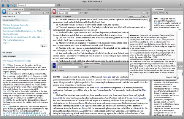 Logos Bible Software 4 for Mac