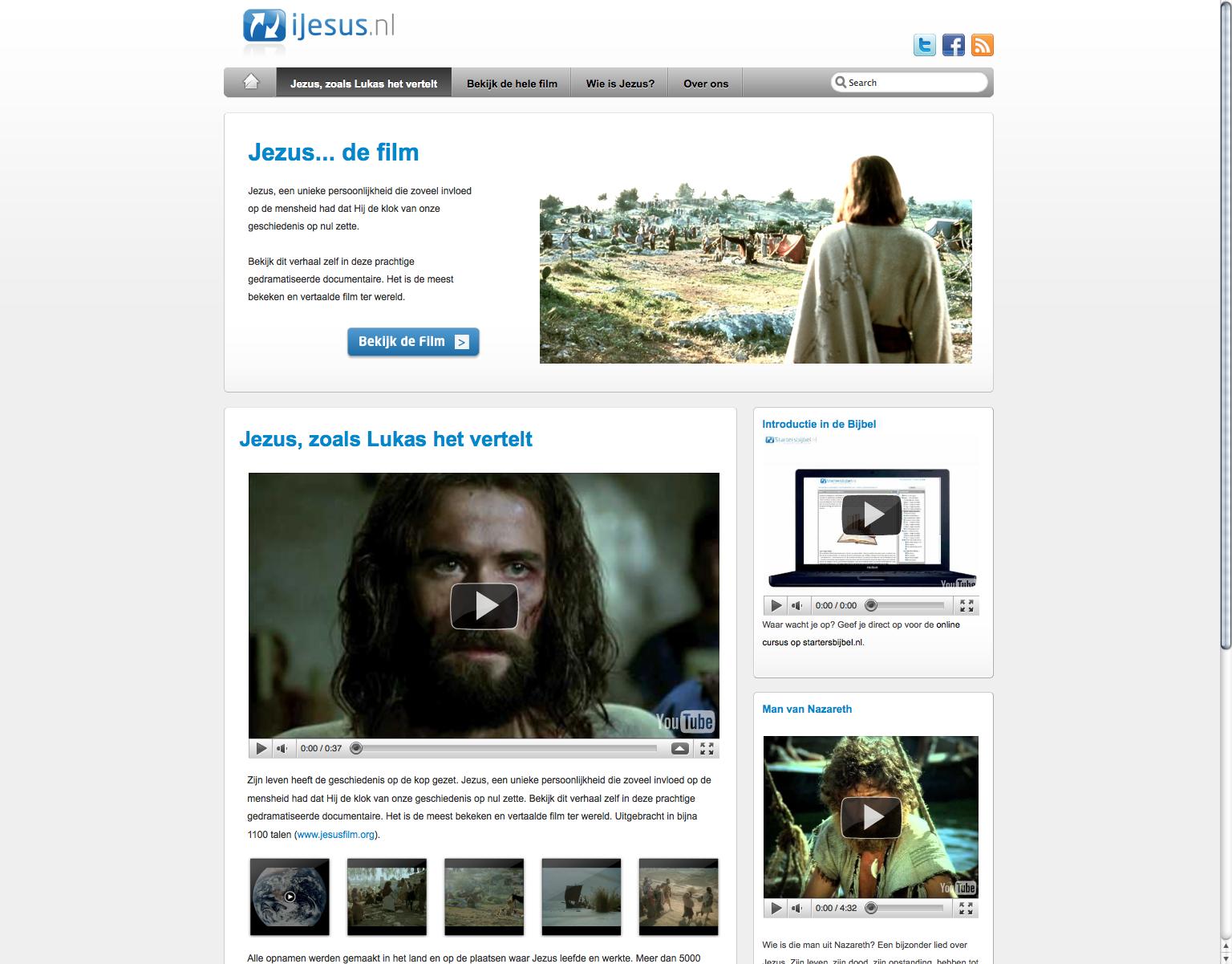 ijesus.nl nieuwe site