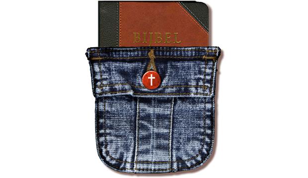 bijbel in spijkerbroek