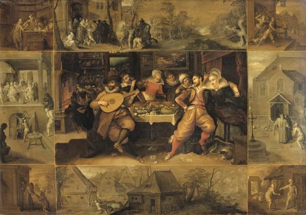 Frans II Francken - de verloren zoon