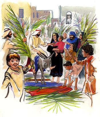 Afbeeldingsresultaat voor palmpasen