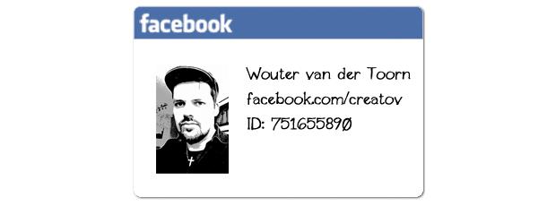 Mijn Facebook ID