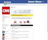 Facebook Page CNN