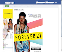 Facebook Page Forever21