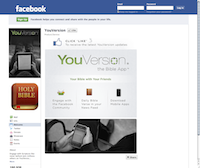 Facebook Page YouVersion