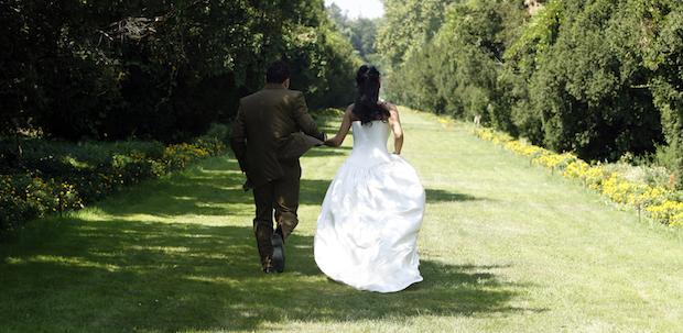 huwelijks koppel