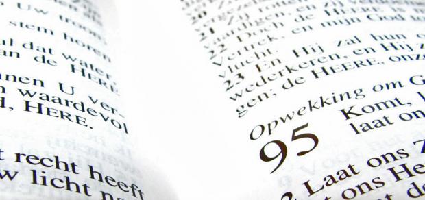 open bijbel psalm 95