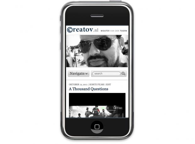 creatov.nl mobile