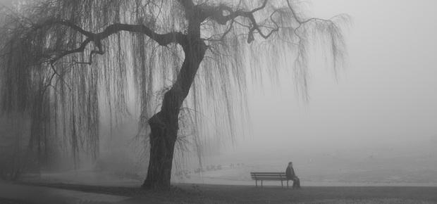 Eenzame man