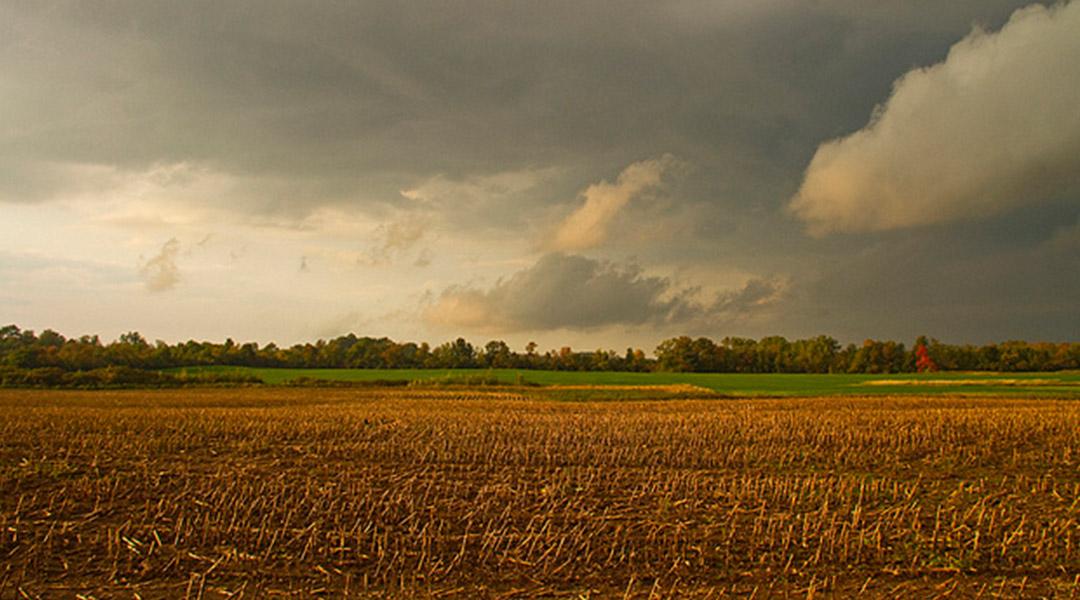herfst storm