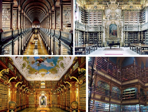 mooiste bibliotheken