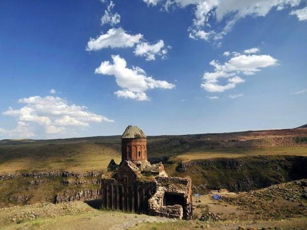 ruines kerken Ani (Turkije)