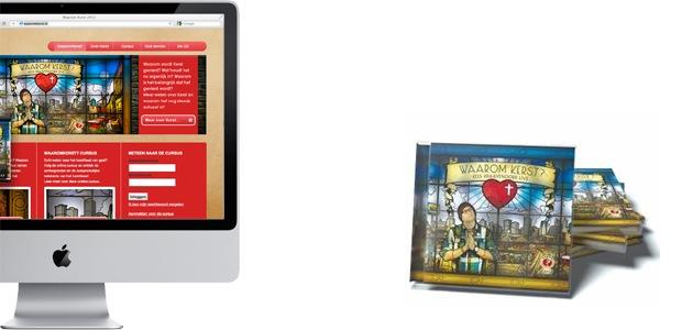 WaaromKerst.nl en CD