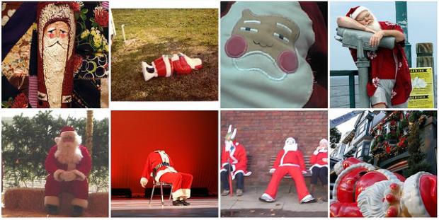 Sombere Kerstman