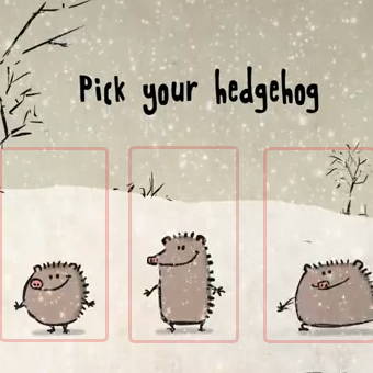 pick your hedgehog