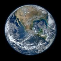 Aarde (door NASA satelliet)
