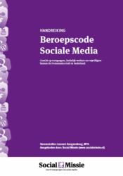 beroepscode sociale media