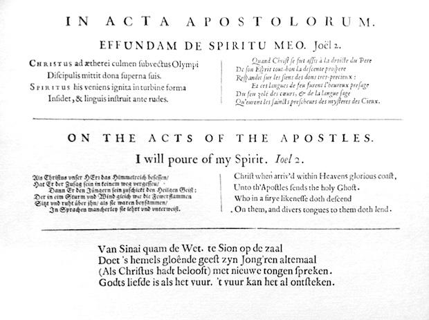 in acta apostolorum