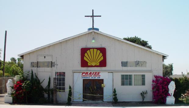 ongebruikelijke kerk