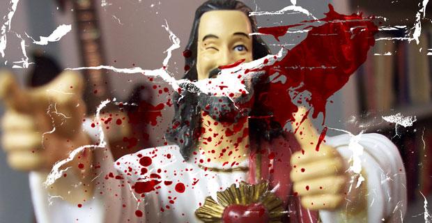 Jezus / bloed / scheuren