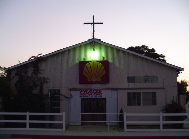 Shell church Huntington Beach