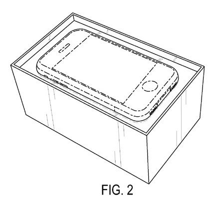 iphone box patent
