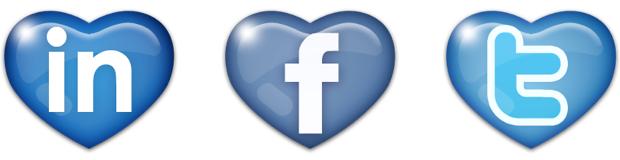 social media harten