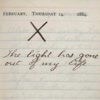 teddy roosevelt diary about his wife