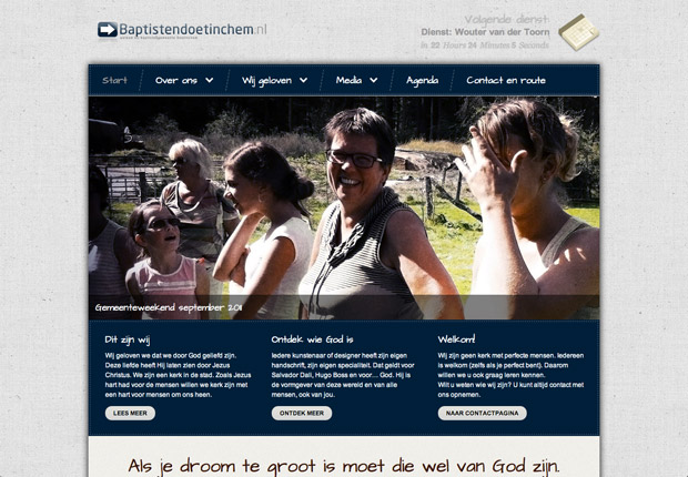 website-baptistendoetinchem
