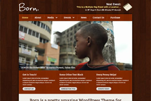 Born WordPress template
