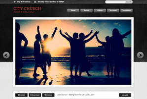 Churchthemer WordPress template