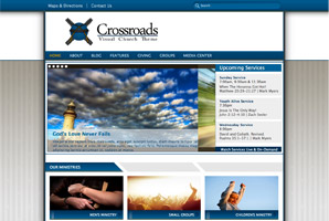 WordPress template crossroads