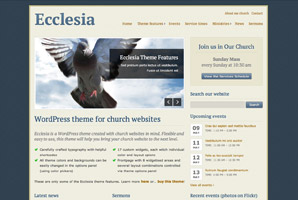 Ecclesia WordPress template