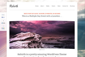 WordPress Rebirth template