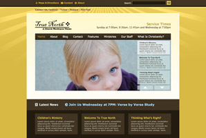 True North WordPress template