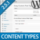 Easy Custom Content Types for WordPress