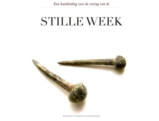 Handleiding voor de Stille Week
